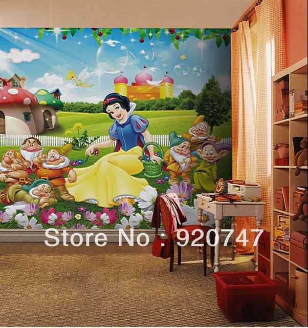 9071 Snow White And The Seven Dwarfs Wallpaper For Kids En Fondos De Pantalla De Mejoras Para El Hogar En Aliexpresscom Alibaba Group