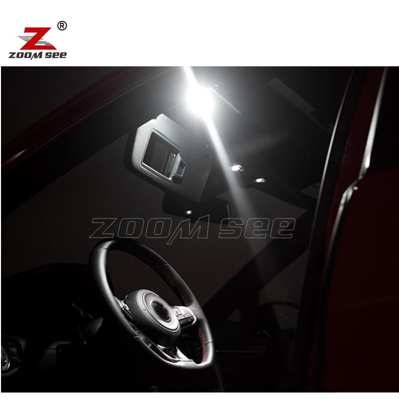 Us 19 23 26 Off 14pcs Led License Plate Lamp Decoder For Vw Golf 7 Mk7 Mkvii Golf Gti Sportwagen Led Interior Dome Light Kit 2014 In Signal