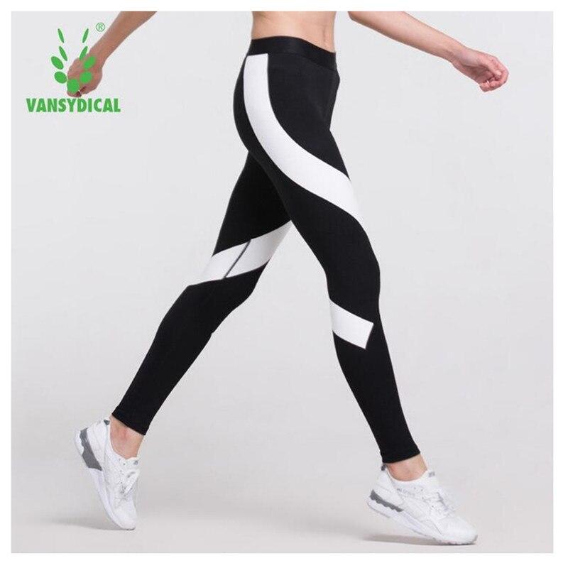 Prix pour Vansydical Femmes yoga Pantalon leggings collants sport Fitness Collants Running sport femme gym vêtements mallas mujer deportivas