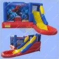 CALIENTE Spiderman Inflable Castillo Hinchable para el negocio de alquiler, Gorila Inflable Comercial, Piscina con Tobogán inflable Envío Gratis