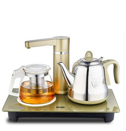 Automatic water electric kettle 304 glass insulation cup tea  brewing Safety Auto-Off Function
