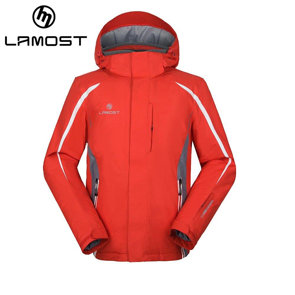Prix pour LAMOST Hommes imperméable coupe-vent à capuche veste de ski hommes campera ski hombre chaqueta esqui hombre