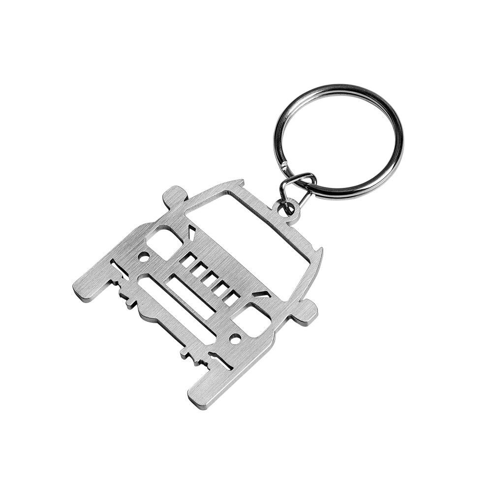 New 3D Design Zinc-Aluminium Alloy Keychain Key Ring For Suzuki Alto