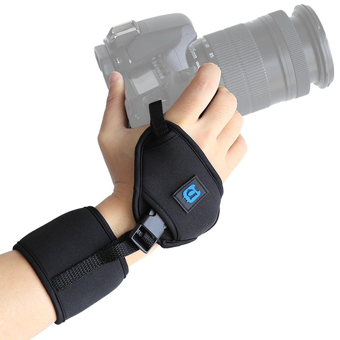 General Hand Wrist Strap Camera Neoprene Cameras Wrist Strap Hand Belt Quick-release 1/4'' Screw For NIKON Canon