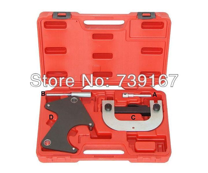 ФОТО Engine Camshaft Crankshaft Locking Alignment Timing Belt Pulley Tool Kit For RENAULT SCENIC LAGUNA CLIO 1.4/1.6 16V ST0088