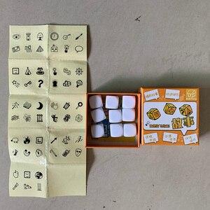 Image 4 - 3 вида DIY рассказанная история, набор костей, головоломка для фотографий/вечевечерние/друзей, родителей с детьми, забавные волшебные игрушки