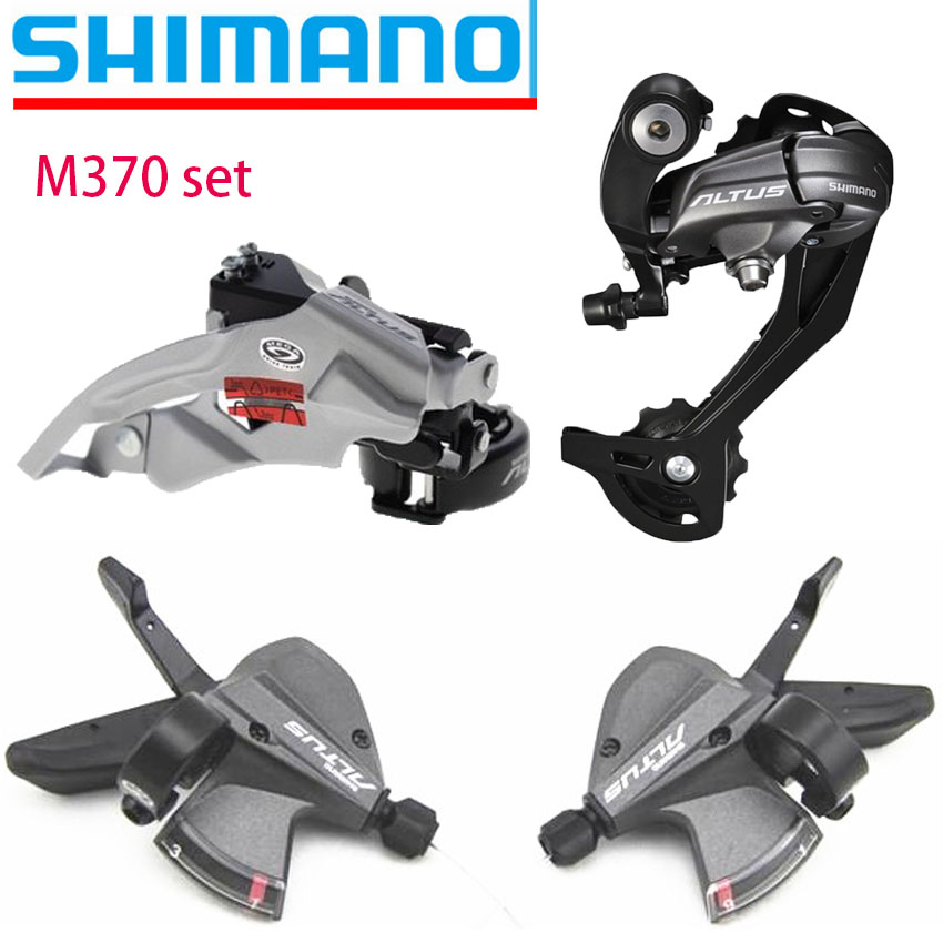 Shimano Altus M370 27 Speed Bike MTB Bicycle Groupset Kit 3 Parts set with Shifter Lever & Front and Rear Derailleur игрушка трансформер дженерейшнз делюкс