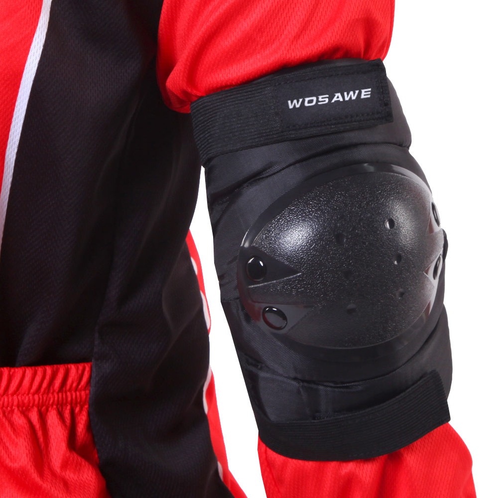 WOSAWE Thickening motocross elbow pads Football Volleyball Extreme Sports Arm pads brace support motorcycle Knee Elbow Protector