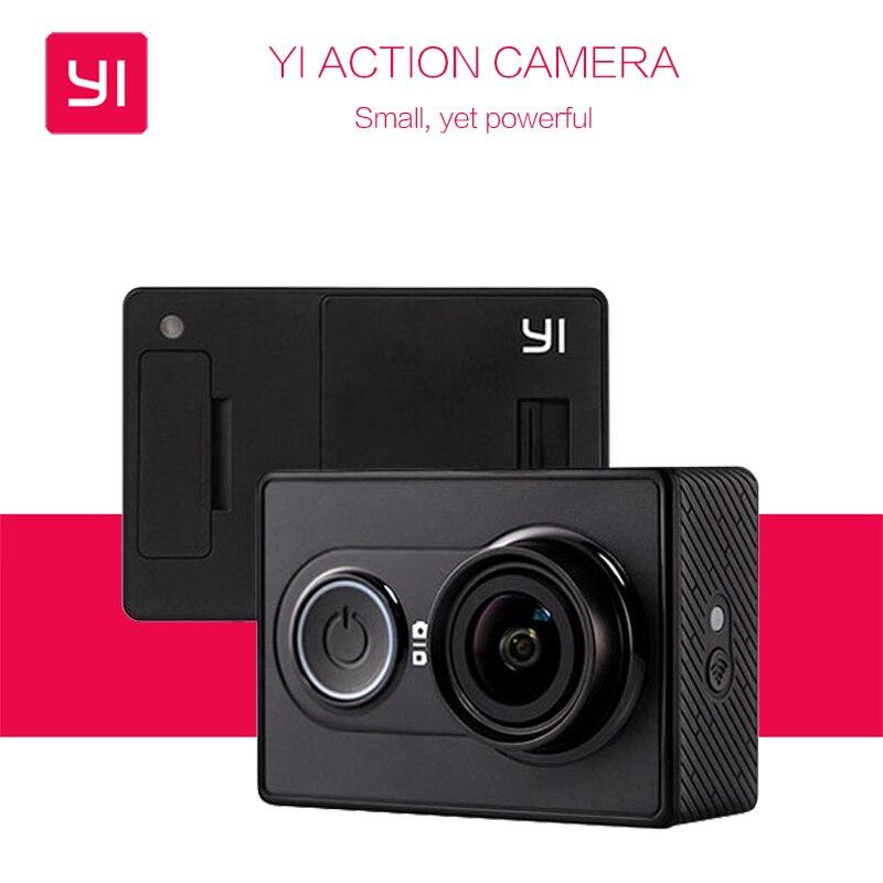 Международная версия Yi Action Камера 16mp xiaoyi 1080 P Ambarella A7 Bluetooth Xiaomi Yi Водонепроницаемый 2 К WI-FI Спорт Камера