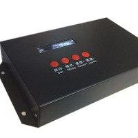 Entrada AC110-240V TJZK-V2 jugador fuera de línea para controlleruse para T300K T500K T200K led controlador DMX512 para jugar anuncio ani