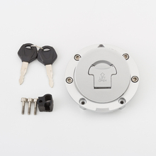 Motorcycle Fuel Gas Cap Cover Tank Lock Set with 2 Keys for Honda CBR1000RR 2004-2007 все цены