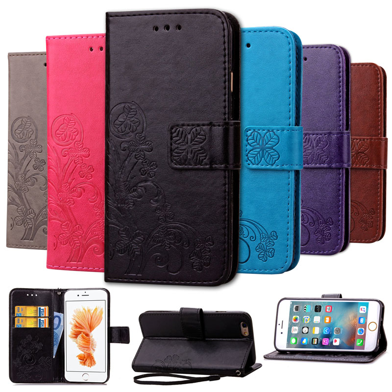 Effelon Luxury Flip PU Leather Fashion cover case for iPhone 6 s 6s 7 plus / 8 plus cell phone cases for iPhone 5 5s 5c SE Caque