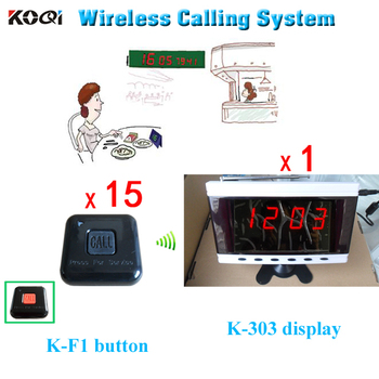 Paging System Wireless Digital Ccreens and Table Call Buzzers Waitress Calling System