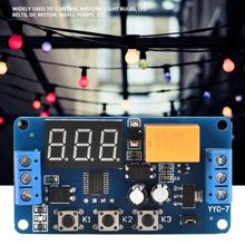 Timer Module Adjustable Cycle Timer Control Relay Time Delay Switch Module 3V 3.7V 4.5v 5v 6v 7.4V Adjustable Timer Module 6 30v relay module switch trigger time delay circuit timer cycle adjustable
