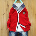 New Fashion children sweaters boys clothing casual kids cardigans Knitwear solid child sweaters British style baby boys clothes