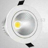 Hot koop Pas 3 type kleurtemperatuur 9 W Nieuws COB Led verzonken beneden (Een: warm wit/B: Natuurlijke Wit/C: koel wit)