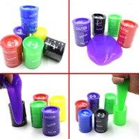 A Set Of Six Barrel Slime Fun Shocker Toy Prank Joke Gag Gift Crazy Trick Party
