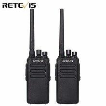 2pcs 10W DMR Digital Radio IP67 Waterproof Anti-dust Walkie Talkie Retevis RT81 UHF400-470MHz VOX Encrypted Two Way Radio