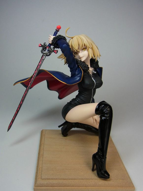Fate Grand Order Jeanne Of Arc Action Figure 1/8 scale painted figure Black Joan Of Arc PVC figure Toy Anime 18CM hot game anime insane black rock shooter 1 8 scale huge 40cm action figure