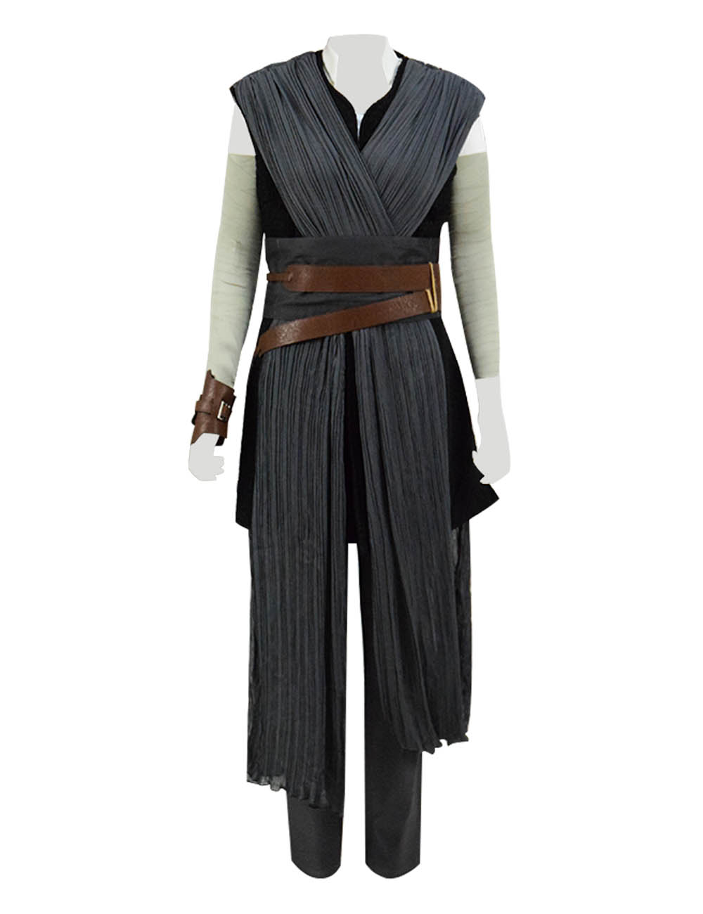 Star Wars VIII The Last Jedi Rey Cosplay Costume Battle Suit Women Cosplay Cosdaddy