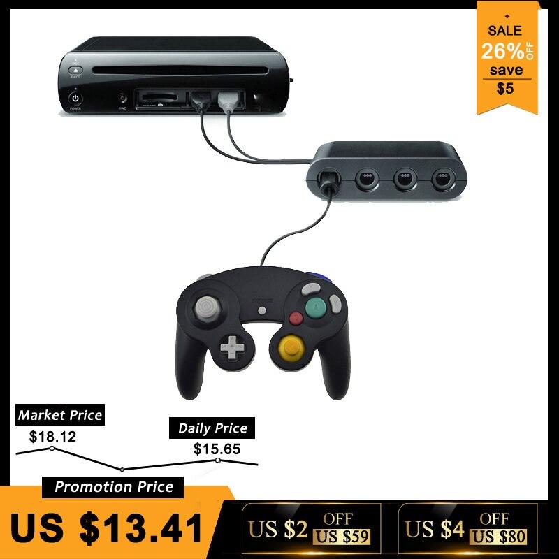 2 In 1 GameCube Controller Adapter Konverter Für Wii U PC Für WiiU Für Nintend Schalter Für NS