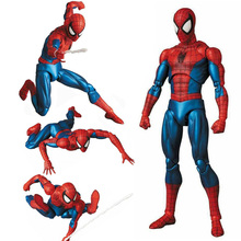 Marvel Spider Man Mafex 075 the Amazing SpiderMan BJD figure