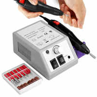 20000RPM Electric Nail Drill Bits Manicure Set Grinding Mill Cutters Gel Cuticle Remover Nail File Kit Nail Art Pedicure Machine