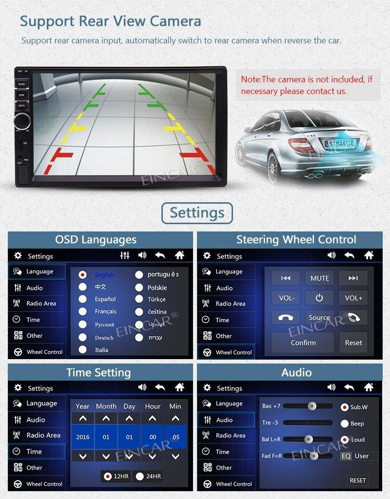 2 DIN 7 дюймов HD Сенсорный экран головного устройства Стерео Радио Авто Радио fm Радио/MP5 Функция Поддержка USB TFT карты игральные Bluetooth