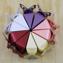 10Pcs/set Love Butterfly Party Wedding Carriage Baby Shower Favors Gifts Candy Boxes Hot Sale