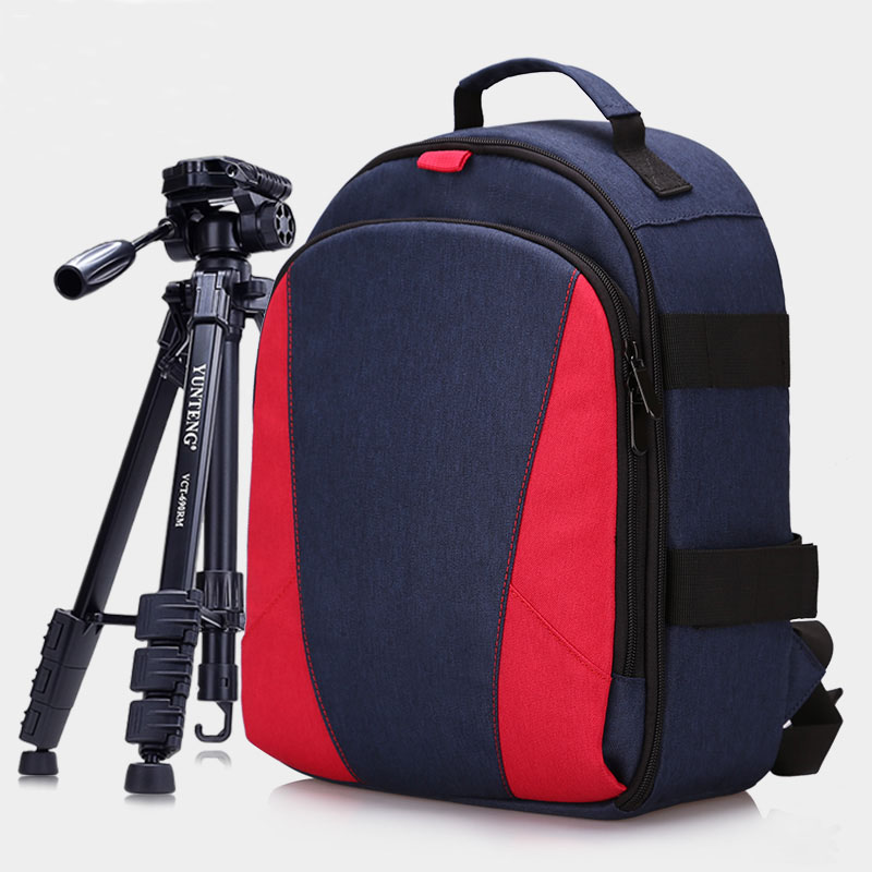 Outdoor Travel Photography Padded Camera Bag Backpack with Tripod Holder Laptop Pocket for Nikon Canon Sony DSLR Cameras 80145