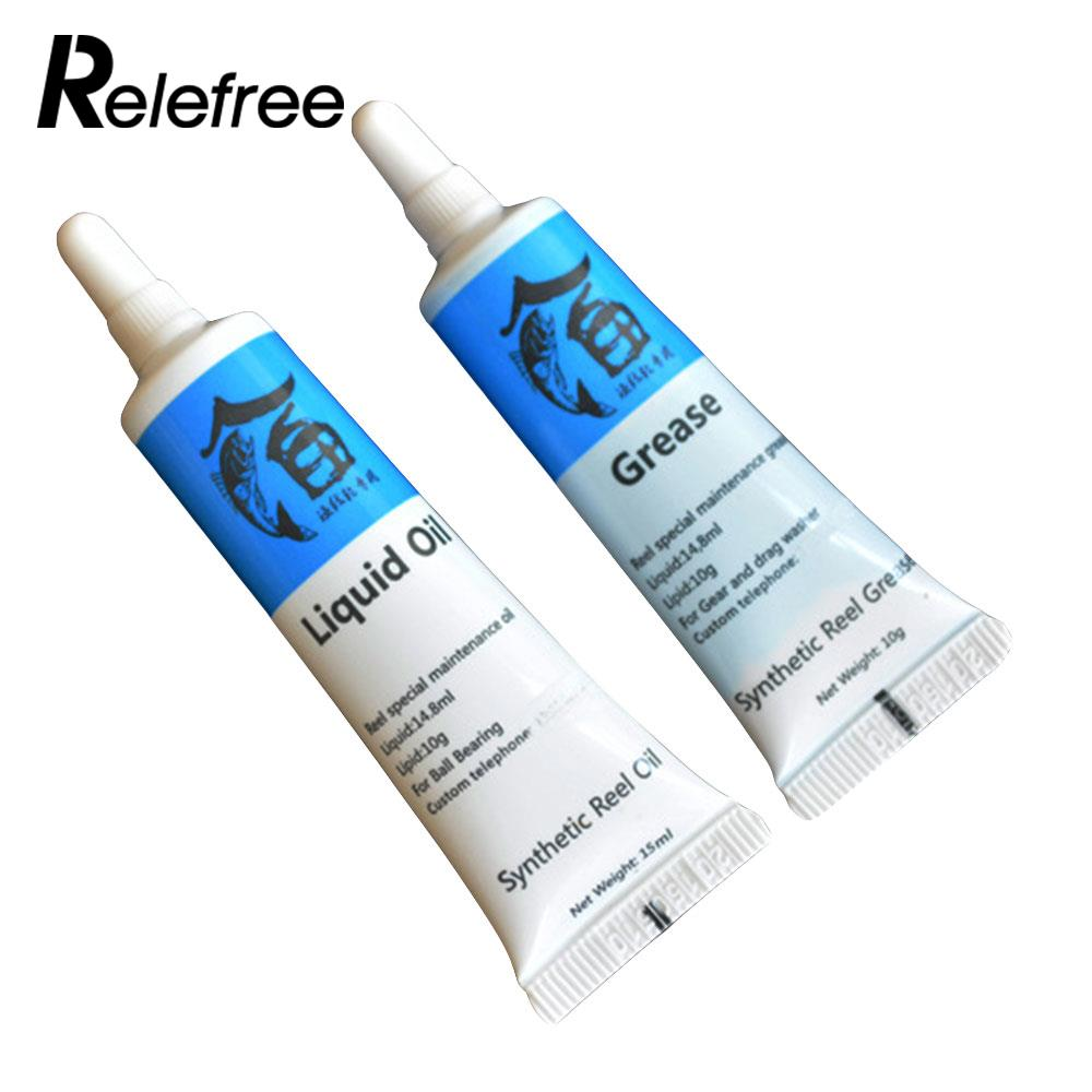 Buy Fishing Coil Synthtic Reel Lubricant Special Maintenance Tackle Oil/Grease