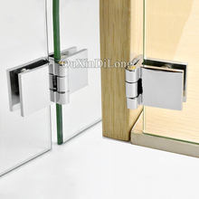 Brand New 20PCS Brass Glass Cabinet Hinges Wine/Display Door for 5-8mm