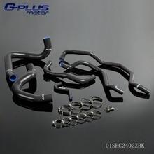 Силиконовые Радиатор Охлаждения Шланг Комплект Для Alfa Romeo GT 147 156 1.9L JTD 2003-2010