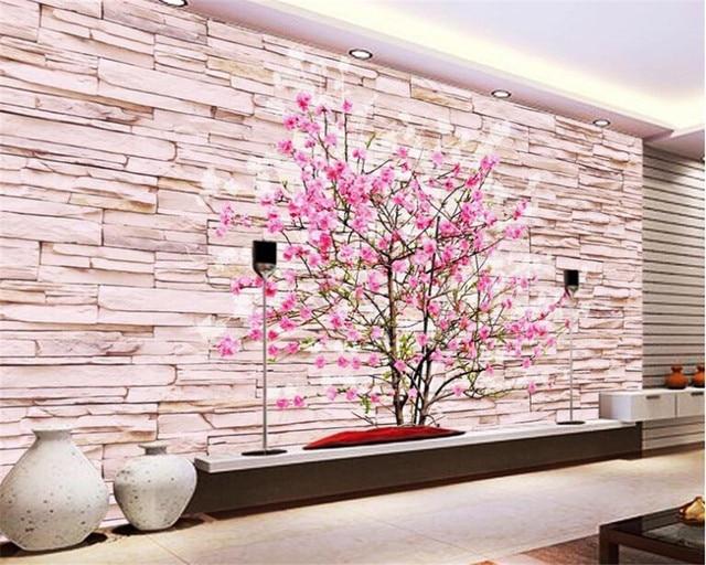 Online Shop Beibehang Large Custom wallpaper 3d mural 3d Hongmei ...