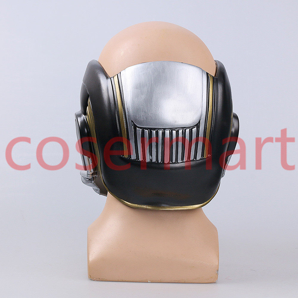 Cos Guardians of the Galaxy Helmet Cosplay Peter Quill Helmet PVC with Led Light Star Lord Helmet Halloween Party Mask Adults (3)
