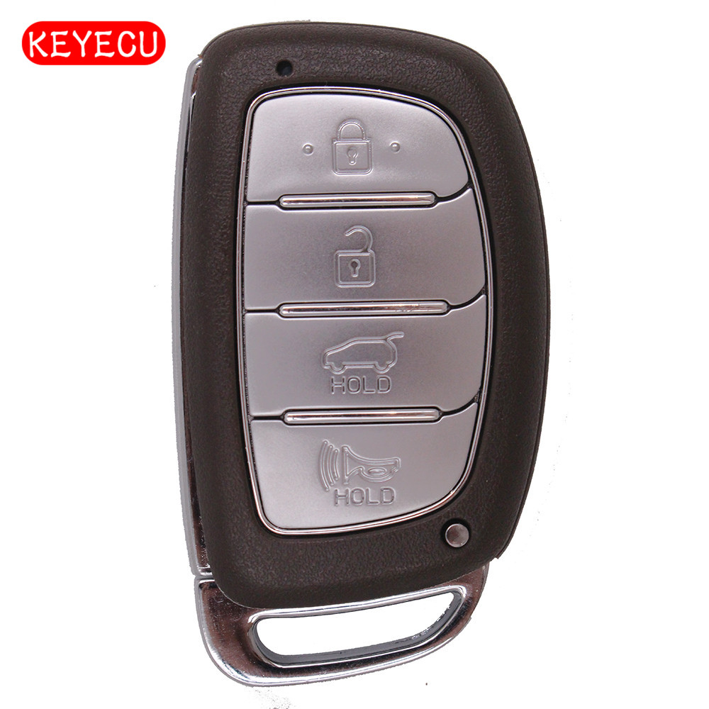 Keyecu Remote Key Keyless Entry Fob 4 Button 433MHz PCF7945 Chip for Hyundai IX35 2013+ FCC:2S600 2003 03 ford taurus pink keyless entry remote 4 button