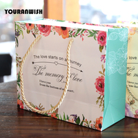 10 pcs portable Candy Box Wedding Favors Candy Gift Bags