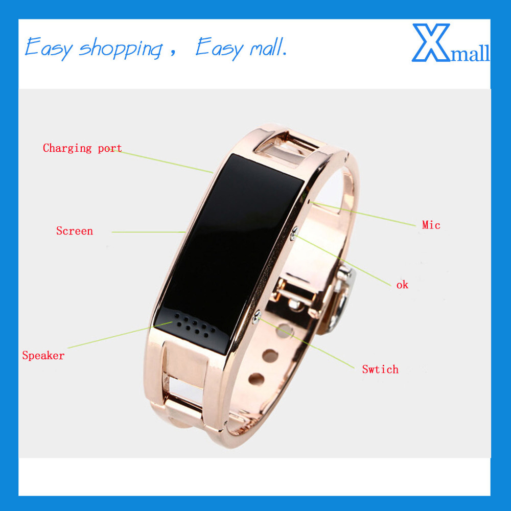 Free Shipping Smart Watch Bluetooth Bracelet Wristwatch font b Smartwatch b font Call Answer SMS Reminding