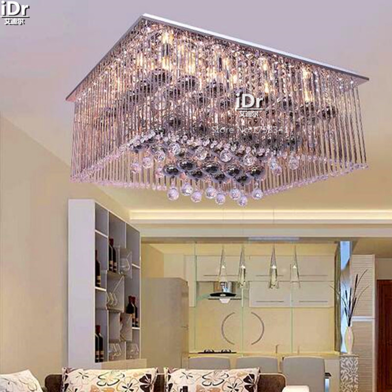 Europa Wohnzimmer Lampe Schlafzimmer Flachniedervoltlampen Beleuchtung Lampen Studie Deckenleuchten L950xW750xH220mmChina
