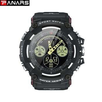 PANARS Mens Waterproof Watches Smart Watch Men Wristwatch Mens Mens Digital Watches Fashion Men Fitness Sport Digital Watch Men