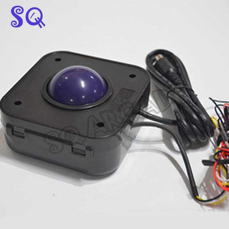 Led の 4.5 センチ直径トラックボール ps/2 ポート pc マザーボードゲームボード/アーケードゲーム機/ゲーム機アクセサリー