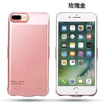 Портативный Мобильные аккумуляторы внешний Батарея Зарядное устройство чехол для iphone 8 плюс 8 плюс Мощность чехол телефон PowerBank для iphone 8 7 Plus