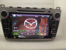 8 «автомобильный Радиоприемник 2 Din Dvd-плеер Автомобиля GPS Навигация в Тире ПК автомобиля Стерео Головное устройство для mazda 6 2008-2013 Car Audio плеер