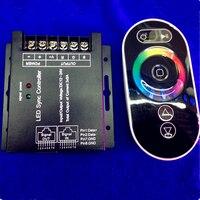 การออกแบบใหม่DC12-24V RGBควบคุมซิงโคร  RFสัมผัสRGBควบคุมสำหรับ5050/3528 RGBแถบจัดส่งฟรี