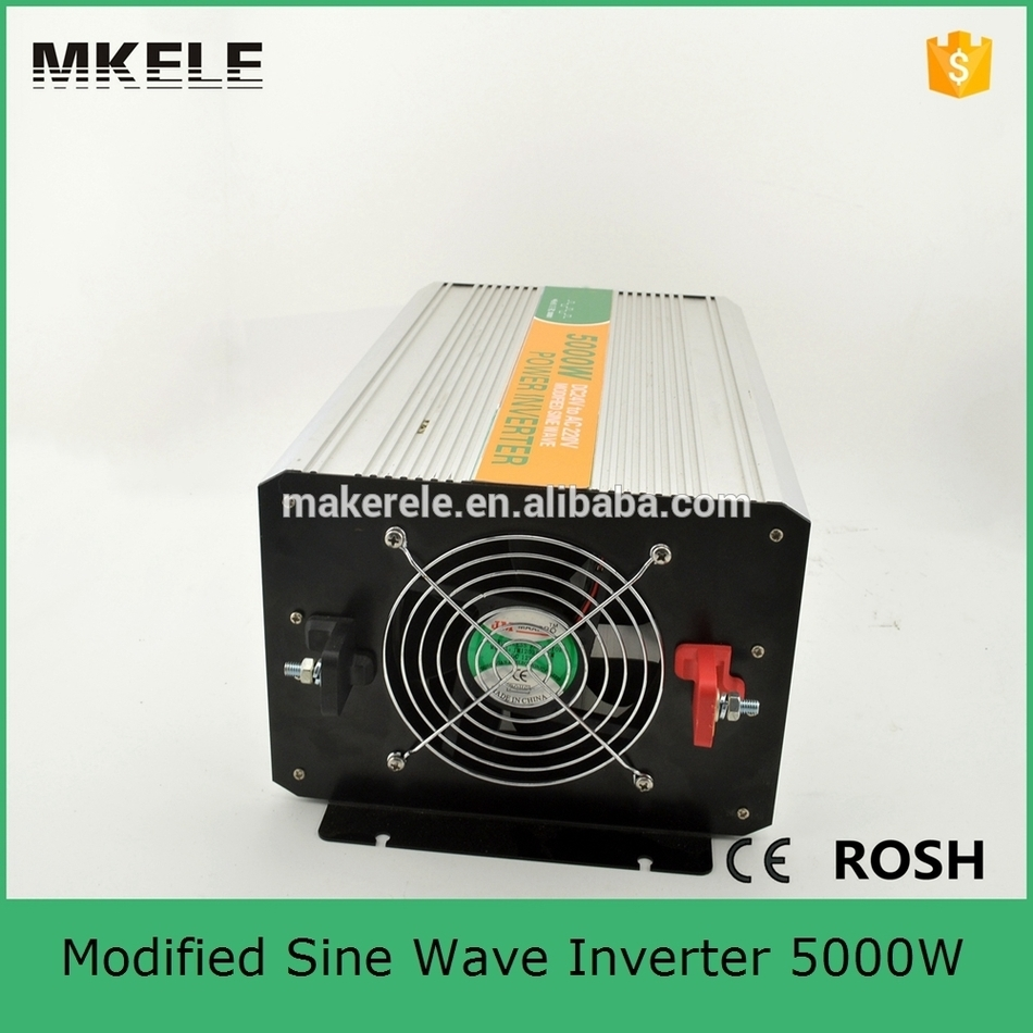 MKM5000-482G 5000w high power inverter 48v dc to 220v ac modified sine wave,battery and inverter made in China