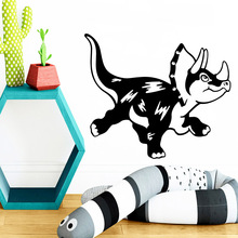 Fashion Triceratops Living Room Wall Sticker Kids Pvc Art Stickers Modern sticker vinyl vinilo pared