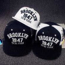 Мода 1947 Бруклин стиль Snapback бейсбольная Кепка шляпы хорошего качества Snapback Кепка Нью-Йорк Хип-хоп кепка