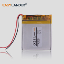 3.7V 400mAh 303035  Polymer lithium ion / Li-ion battery for DVR Digma free drive 400 Registrar Dixon F650 mp3 player camera