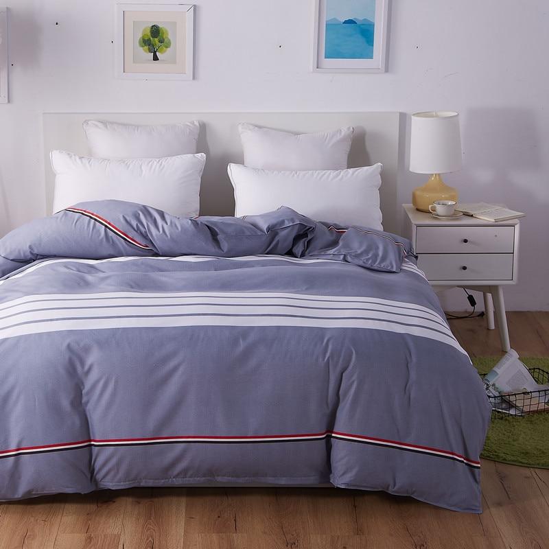 UNIHOME Luxury  ZFull/Queen Duvet cover set 300 thread count fiber reactive prints bedding XIAOMIFENG