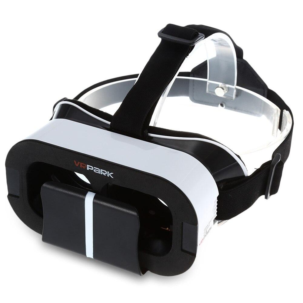 Hot Sale <font><b>VR</b></font> <font><b>PARK</b></font> <font><b>5.0</b></font> <font><b>Virtual</b></font> <font><b>Reality</b></font> 3D <font><b>Glasses</b></font> for 4 - 6 inch Smartphone 90 Degrees FOV <font><b>Glasses</b></font> For Apple Android Phone